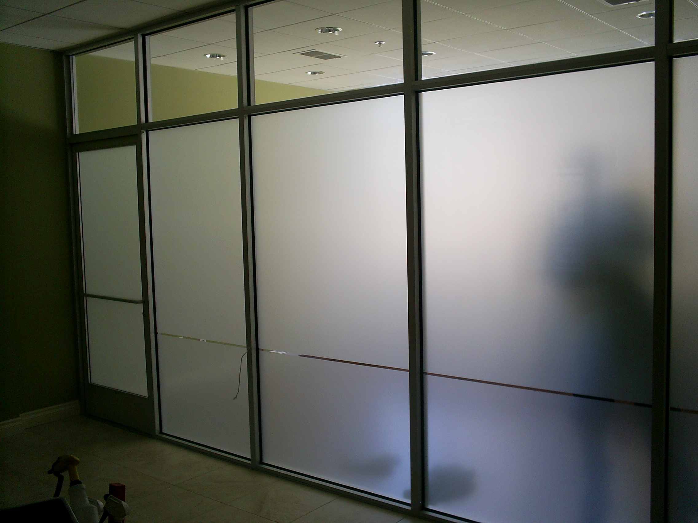 Decorative Window Film Rancho Cucamonga White Frost